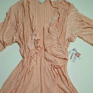 lularoe shirly large brand new solid pink